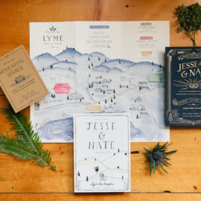 Martha Stewart Weddings — A Farm Wedding Filled with Personalized, Eclectic Touches